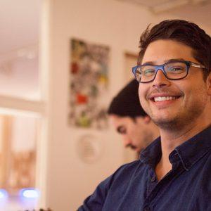 Emanuel Reiter im Studio